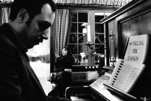 Sergio Di Gennaro al pianoforte e Silvia Lorenzo alla voce