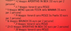 Menù di Maggio